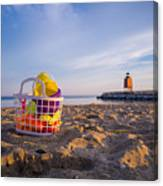 The Beach Is Calling Canvas Print