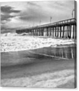 The Beach Pier Canvas Print