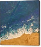 The Beach - Tac Canvas Print