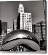 The Bean - 3 Canvas Print