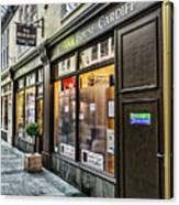 The Bear Shop Canvas Print