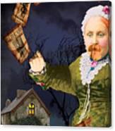 The Bearded Lady's Dream Canvas Print