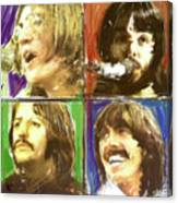 The Beatles - Let it Be Canvas Print