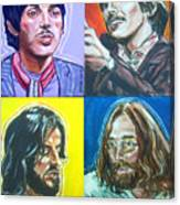 The Beatles - Montage Canvas Print