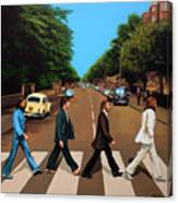 The Beatles Abbey Road Canvas Print