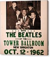 The Beatles And Little Richard Poster Collection 6 Canvas Print