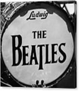 The Beatles Drum Canvas Print