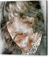 The Beatles Ringo Starr Canvas Print