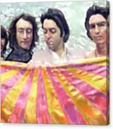 The Beatles. Watercolor Canvas Print