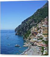 The Beautiful And Famous Amalfi Coast Canvas Print