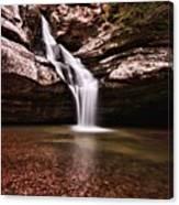 The Beautiful Cedar Falls Canvas Print