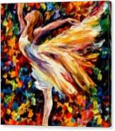The Beauty Of Dance Canvas Print