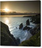 the Bedruthan Steps Canvas Print
