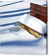 The Bench - The Guild Inn Canvas Print