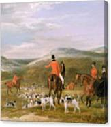 The Berkeley Hunt Canvas Print