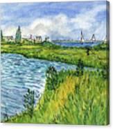 The Berkeley Island Pond Canvas Print