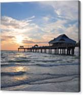 The Best Sunsets At Pier 60 Canvas Print
