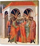 The Betrayal Of Judas 1311 Canvas Print