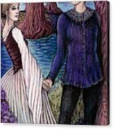 The Betrothal Canvas Print