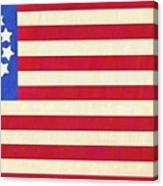 The Betsy Ross Flag Canvas Print