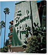 The Beverly Hills Canvas Print