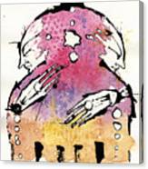 The Bi-polar Canvas Print