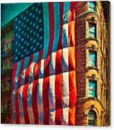 The Big Big Flag Canvas Print