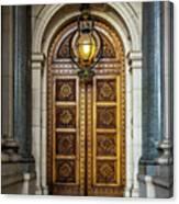 The Big Doors Canvas Print