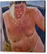 The Big Finn Canvas Print