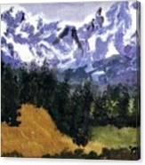 The Big Horns Canvas Print