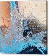 The Big Splash Canvas Print