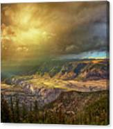 The Big Valley Canvas Print