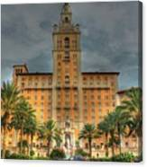 The Biltmore Hotel Canvas Print