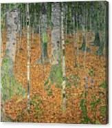 The Birch Wood Canvas Print