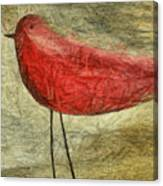The Bird - Ft06 Canvas Print
