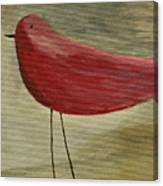 The Bird - Original Canvas Print