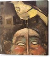 The Birdman Of Alcatraz Canvas Print
