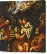 The Birth Of The Virgin Canvas Print