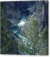 The Black Canyon Of The Gunnison Canvas Print