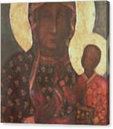 The Black Madonna Of Jasna Gora Canvas Print