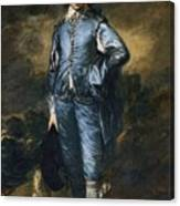The Blue Boy Canvas Print