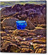 The Blue Bucket Canvas Print