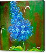 The Blue Flower Canvas Print