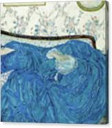 The Blue Gown, 1917  Canvas Print