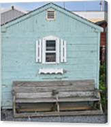 The Blue House Canvas Print