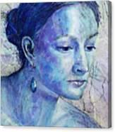 The Blue Jewel Canvas Print