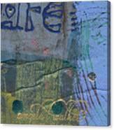The Blue Lady Prays Canvas Print