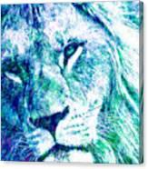 The Blue Lion Canvas Print