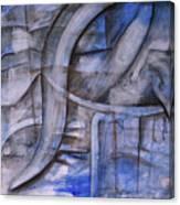 The Blue Machine Canvas Print