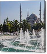 The Blue Mosque Istanbul Canvas Print